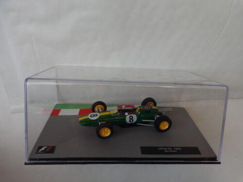 1//43 F1 formule 1 voiture collection-Lotus 25 Jim Clark 1963 voiture #15