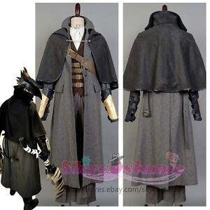 Bloodborne The Hunter Set Uniform Cosplay Costume Outfit Attire
