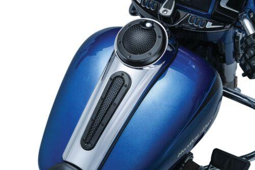 /'08-/'19 Kuryakyn 6506 Mesh Dash Insert for FLHX//FLTRX Satin Black Harley
