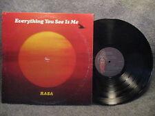 33 RPM LP Record Rasa Everything You See Is Me 1978 Govinda Records RA-106 EXC