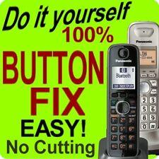 Panasonic Cordless Phone Keypad Fix KX-TGA660B TGA660M KX-TGA401B KX-TGA402N