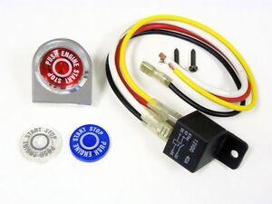 Universal Car Truck Push Button Start Ignition Engine Switch Kit