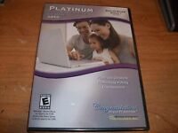 Platinum Software Suite Deluxe 2010 Windows Pc Photoshop H&r Block Mcafee