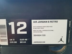 6d320f4ed17108 Image is loading AIR-JORDAN-6-RETRO-034-OLYMPIC-2012-RELEASE-