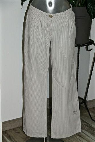 A Carino Bianco Pantaloni Strisce 42 Cotone Cop Atoll Fr Estate Taglia Copine Y6v7byfg