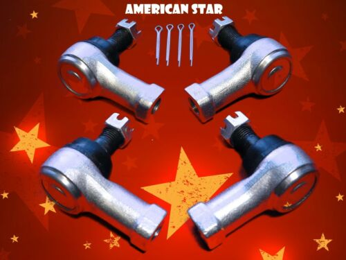4 American Star 4130 Chromoly Tie Rod Ends 2008 Suzuki LTA-750 X King Quad
