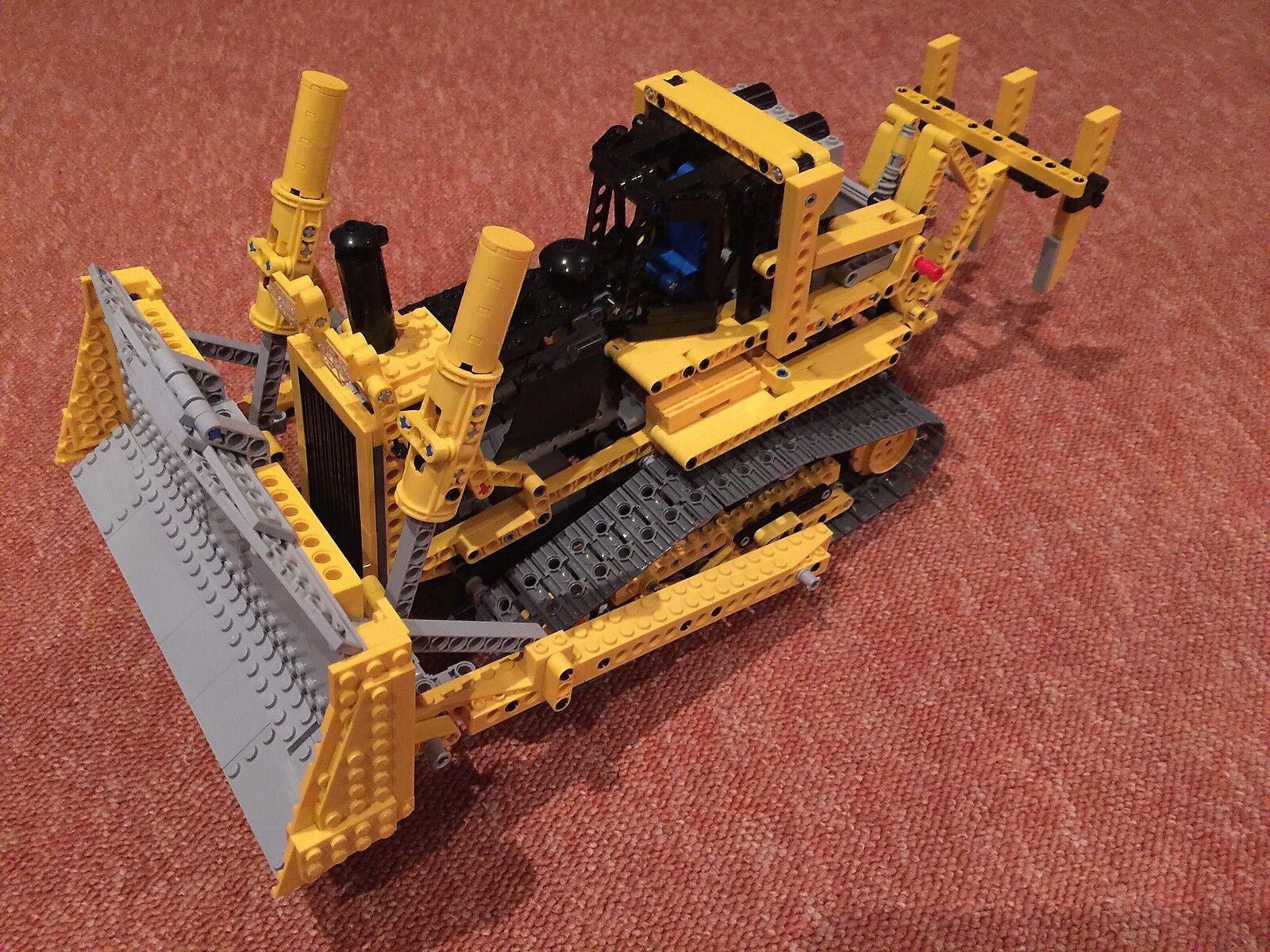 Lego Technic RC 8275 Bulldozer Bulldozer Bulldozer mit Power Funktion, BA (passt zu 8043,42030) 2d9e2a