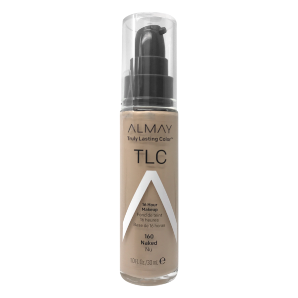 Almay TLC Truly Lasting Color Makeup, Naked 160, 1-Ounce