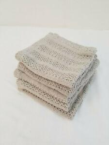 ANTIBACTERIAL 100/% Hemp Washcloth