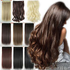 Real as remy human Hair Extensions Long Full Head Clip in on Hair Extension hgd8