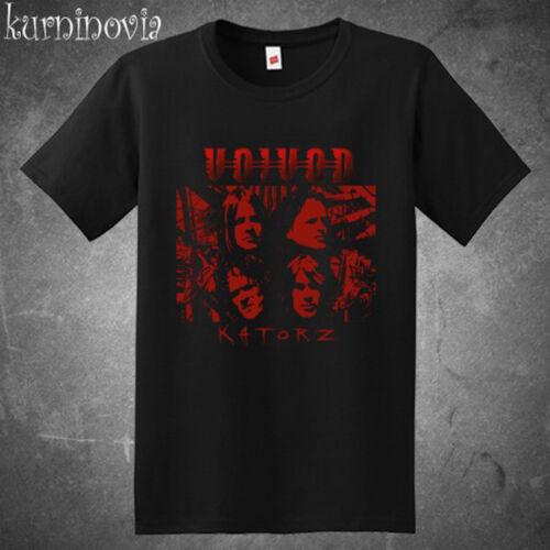 New Voivod Katorz Heavy Metal Band Legend Men/'s Black T-Shirt Size S to 3XL