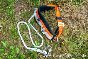 Kletterausrüstung Baum Fällen : Sicherheitsgurt klettergurt kletterausrüstung baumpflege ebay