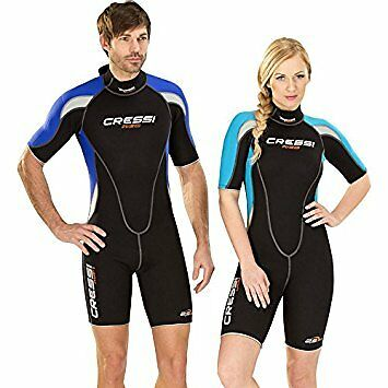 Cressi Womens Med Shorty Wetsuit