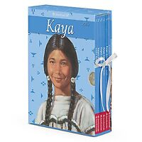 American Girl Book Kaya Boxed Set W/game Paperback Doll All 6 Books