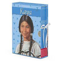 American Girl Book Kaya Boxed Set W/game Paperback Doll All 6 Books
