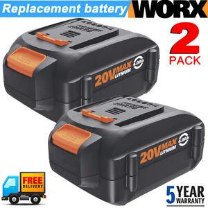 2X-For-WORX-20V-Max-Lithium-WA3578-Power-Tool-4-0AH-Battery-WA3520-WA3575-WA3525