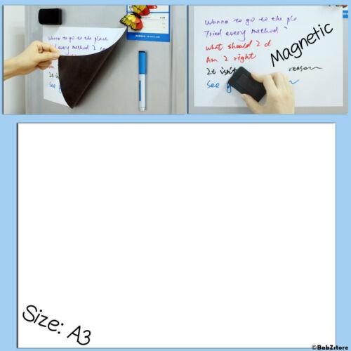 1 x magnetic sheet plate a3 Magnetic Magnet Fridge Blackboard Magnetic