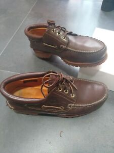 Oltretutto Dipendente devastazione  Timberland boat shoes CLASSIC 3 Eye, Brown, size 42,5, used 2 times. | eBay