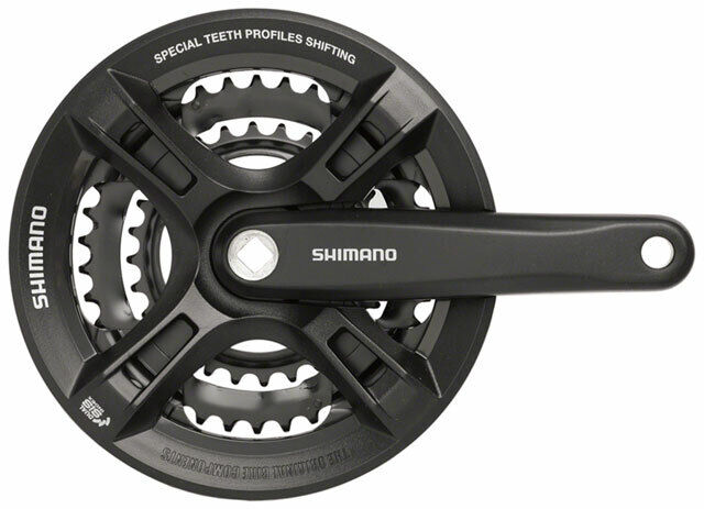 Shiuomoo Altus M311 78Speed 170mm 283848t Quadrato Guarnitura