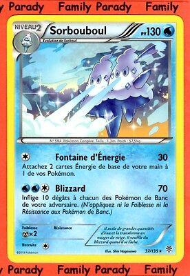 Sorbouboul 130pv 37//135 Tempête Plasma Carte Pokemon Rare neuve fr