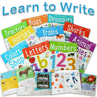 10-Piece Learn to Write Book Bundle with Marker