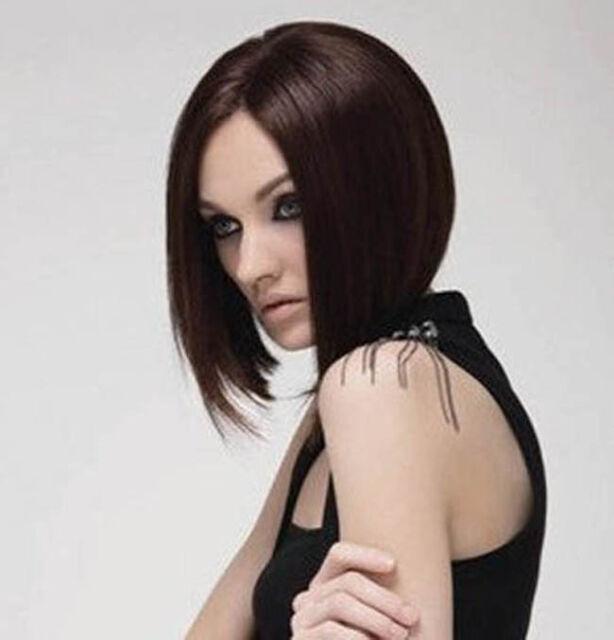 New Fashion Women Short Hair Wig Girl BOB Cosplay Costume Wigs +Free Cap