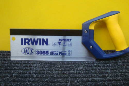"Irwin jack 3055 expert 10/"" 250MM fixation tenon saw 12 dent 13 point"
