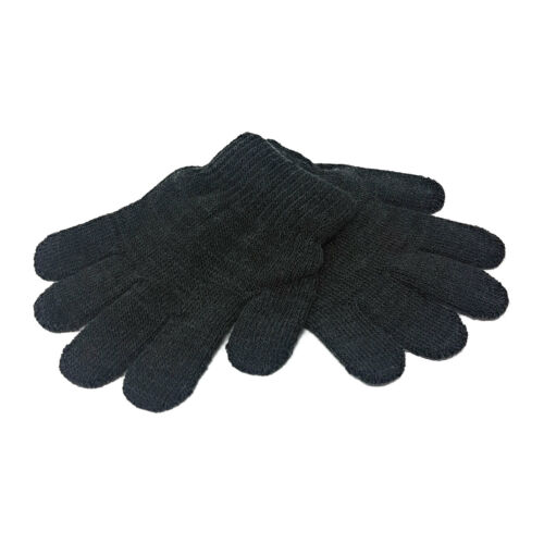 WHOLESALE Kids Magic Gloves Winter BULK Warmth Girls Boys Black Warm Childrens