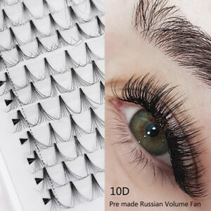 New-16-Lines-10D-Premade-Russian-Volume-Lash-Fan-Pre-Fanned-Fake-Eye-Lashes