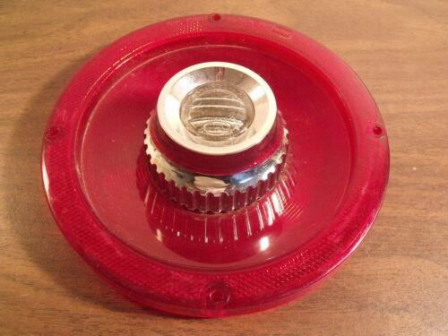 1965 Ford Custom Tail Light Lens with Backup Lens