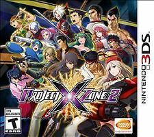 PROJECT X ZONE 2 3DS  GAME NEW