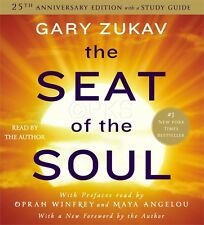 NEW 8 CD Seat of the Soul with STUDY GUIDE Gary Zukav