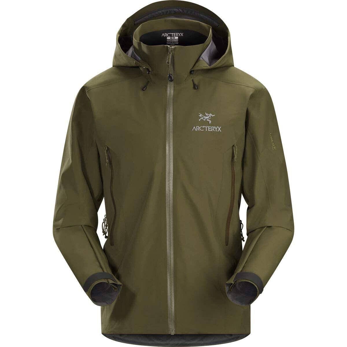Arc'teryx Beta AR Jacket men, GORE-TEX® Pro, Dark Moss, Größe M,