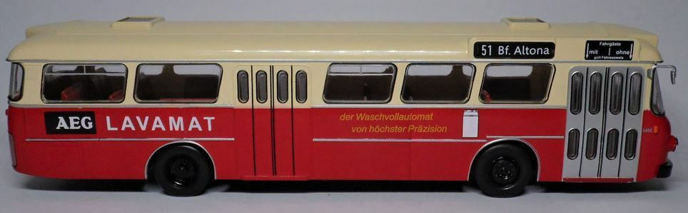 EX MAGAZINE BUSSING SENATOR SENATOR SENATOR 12D 1964 AUSTRIA 1-43 SCALE MODEL BUS HC57 c8d84b