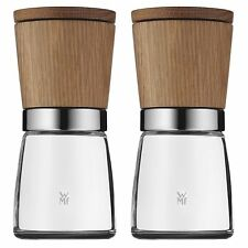 WMF Ceramill Nature Spice Herb Grinder Mill Set of 2, Also Salt and Pepper Mill