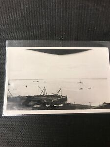 real-photo-Postcard-Fort-Churchill-Freights-Boat-And-Pier-A1