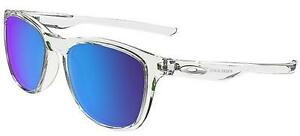 OAKLEY-9340-05-TRILLBE-X-POLISHED-CLEAR-TRASPARENTE-SAPPHIRE-IRIDIUM-POLARIZED