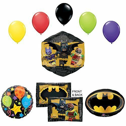 The Lego Batman Movie Birthday Party Supplies and Balloon