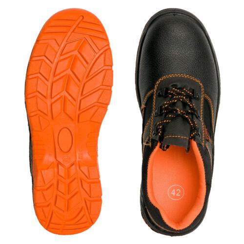 201s1-or Travail Chaussures Basses s1 Chaussures de sécurité bauschuhe Orange Acier Capuchon