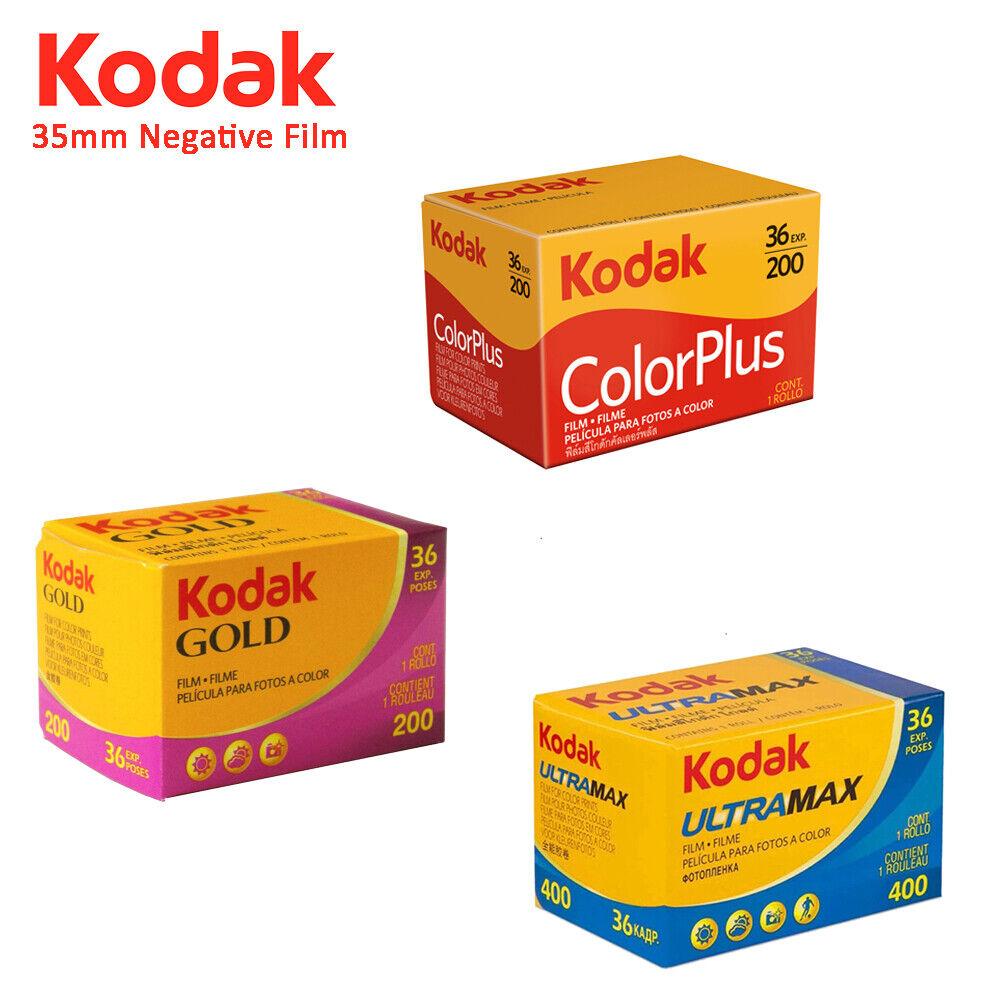 Image 01 - Kodak UltraMax 400 Gold Colorplus 200 Color Film 35mm Photo 135 36 Exposures