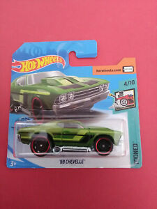 HOT-WHEELS-69-CHEVELLE-TOONED-SHORT-CARTE-GHD43-R-5658