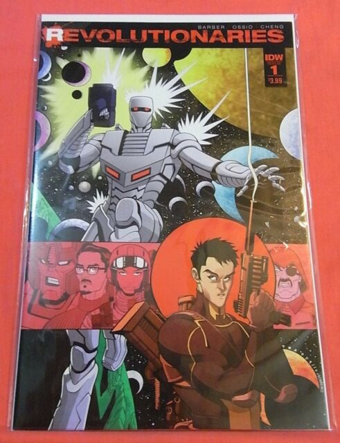REVOLUTIONARIES #1 -  IDW - bagged & boarded..!!