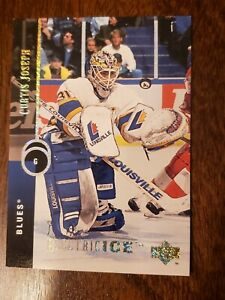 1994-95-CURTIS-JOSEPH-UPPER-DECK-ELECTRIC-ICE-PARALLEL-INSERT-ST-LOUIS-BLUES