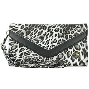 Leopard-Luxury-Leather-Purse-Wallet-Case-Wristlet-Cover-for-Smart-Cell-Phone