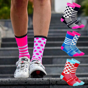 1Pair Unisex Riding Cycling Socks Perspiration Sports Bicycle Breathable Socks