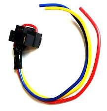 H4 Headlight Headlamp Car Bulb Holder 3 Prong Pin HIGH QUALITY WIRING 472