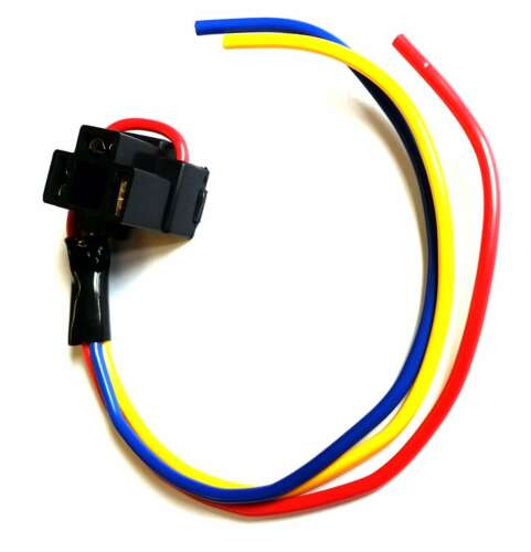 X2 H4 Headlight Headlamp Car Bulb Holder 3 Prong Pin HIGH QUALITY WIRING 472
