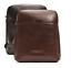 Borsa-Borsello-THE-BRIDGE-Tracolla-Regolabile-Shoulder-Bag-pelle-leather-made-in miniatura 1