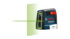 Bosch Gll40 20g Self Leveling Cross Line Laser With Green Beam Laser New