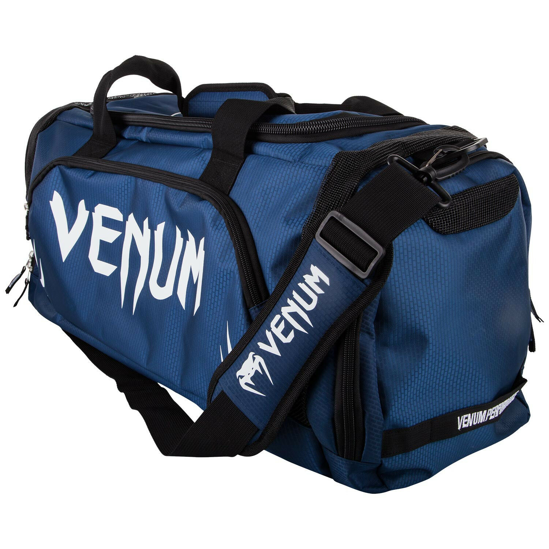 Venum Sporttasche Trainer Lite Navy Blau Weiß, Sport Fitness Freizeit Tasche